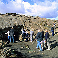 Mid-Atlantic Ridge - Cave Entrance