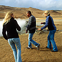 Fumarole Visitors