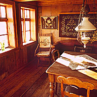 Village of Skógar Traditional Building Interior